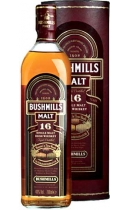 Bushmills. Irish Malt. 16 years old