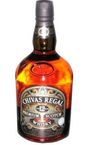 Chivas Regal. Premium Scotch Whisky. Aged 12 Years