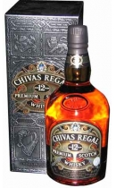 Chivas Regal. Premium Scotch Whisky. Aged 12 Years (+ gift box)