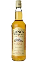 Langs Supreme Scotch Whisky 5 year old
