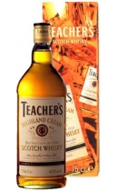 Teacher's Highland Cream Scotch Whisky (+ gift box)