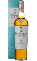 The Macallan. Fine oak 15 year old (+ gift box)