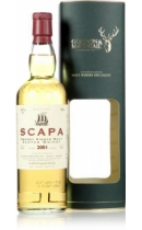 Scapa. Single Highland Malt Scotch Whisky. 2001. Gordon & MacPhail (gift box)